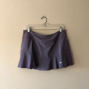 Nike purple athletic skort